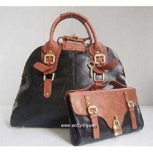 chloe black brown leather 50896