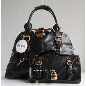 chloe black leather 50896