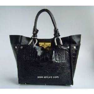 chloe black crocodile chamois 508907