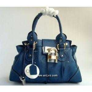 chloe blue leather 508905
