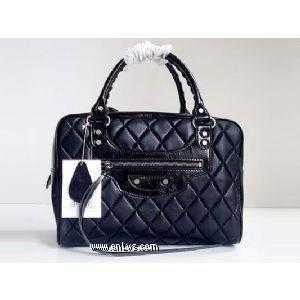 balenciaga medium boston bag 084386 (black)