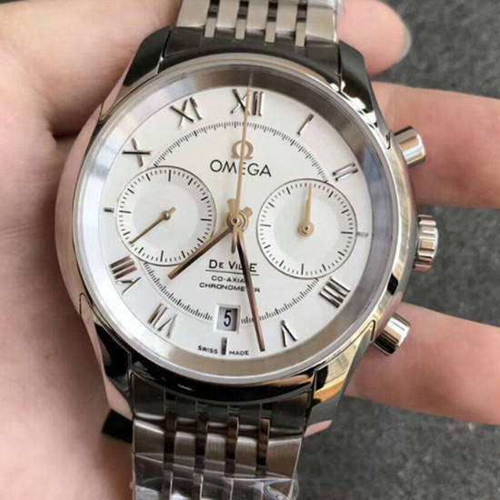 OMEGA  デ・ヴィル コーアクシャル クロノグラフ De Ville CO-Axial Chronograph  431.10.42.51.02.001